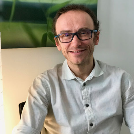 Christophe Martin, Infirmier psychothérapeute, membre de l'équipe de conseillers de Prologis