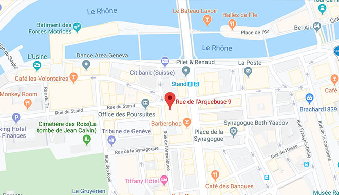 MD Consultations — Adresse du centre — Carte